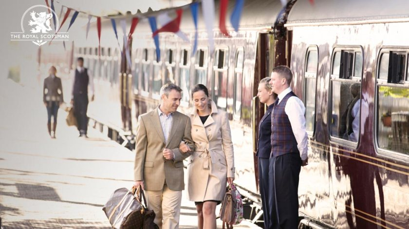 Style, Travel and Luxury on the Royal Scotsman