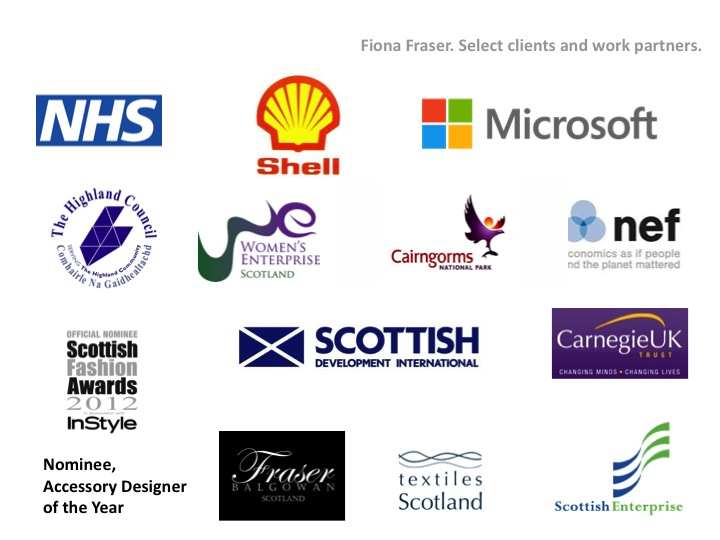 Fiona Fraser clients+work partners