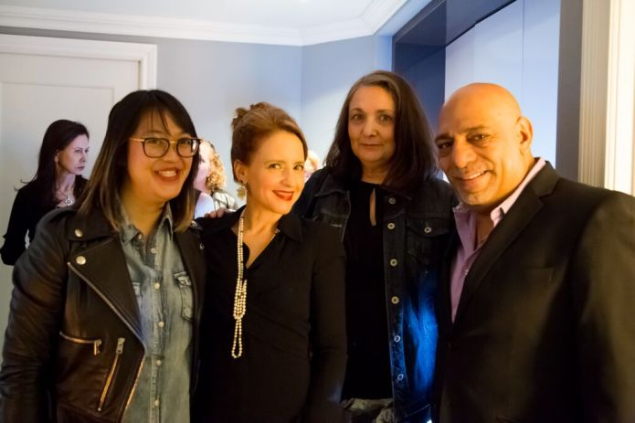 Daisy, Maria, Lucy, Carlos at AromaM event
